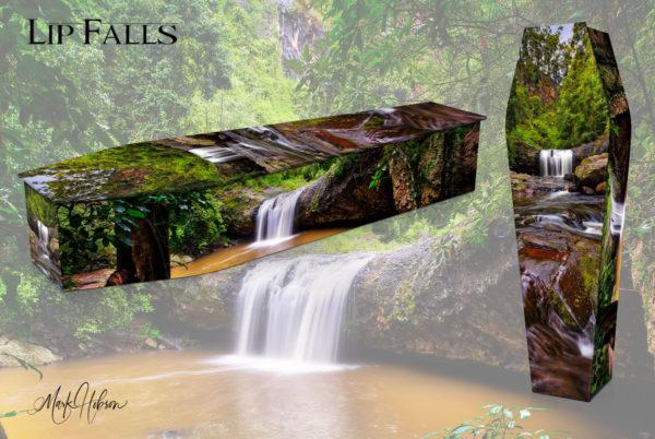 Lip Falls Coffin