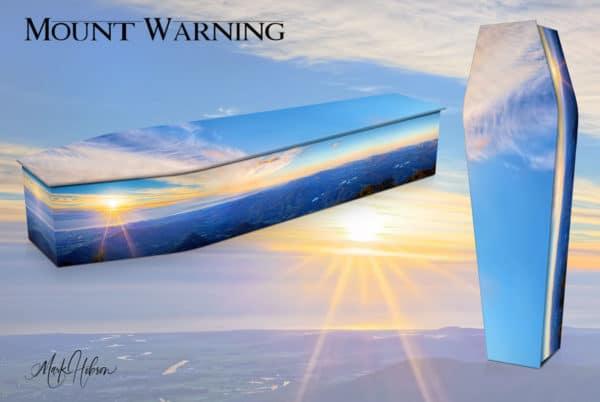 Mt Warning Sunrise Coffin