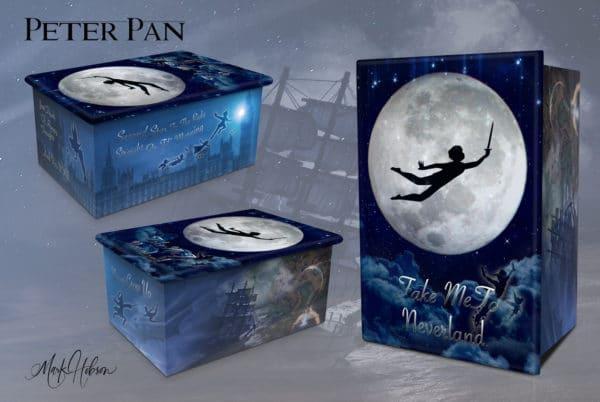 Peter Pan Cremation Urn