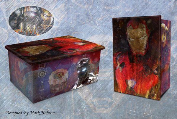 Iron Man Cremation Urn