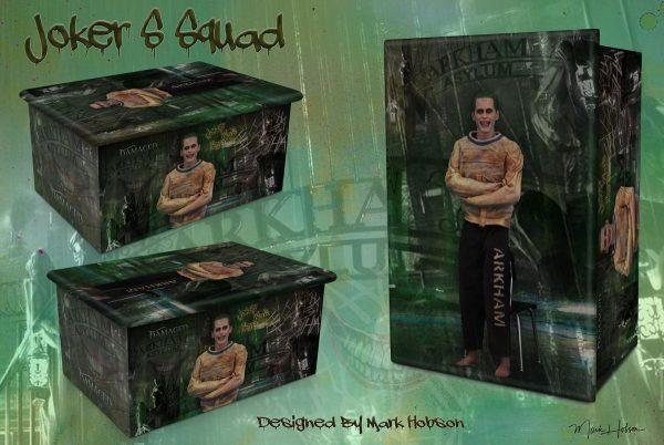 S Squad Joker Cremation Urn