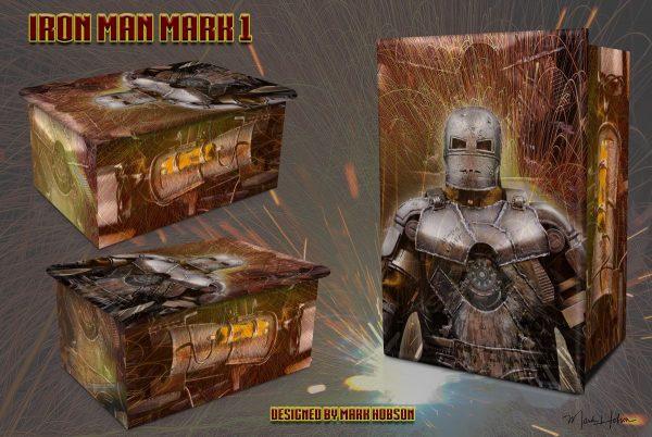 Iron Man Mark 1 Cremation Urn