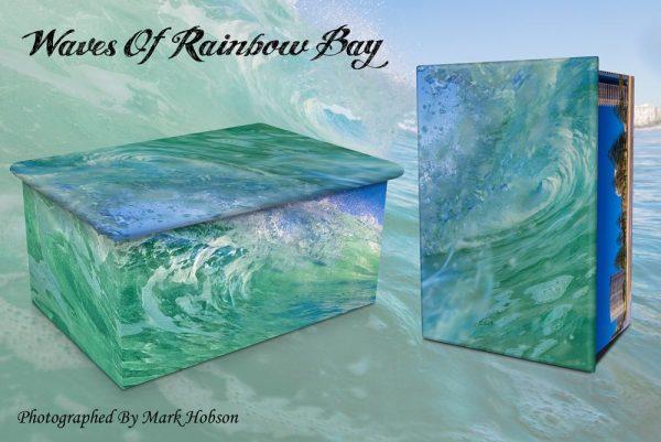 Waves Of Rainbow Bay Cremation Urn