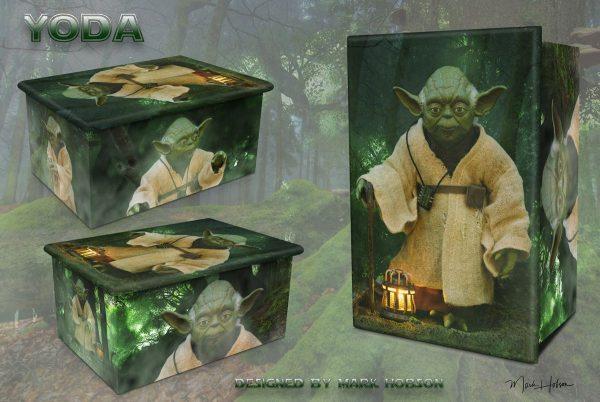 Yoda Cremation Urn