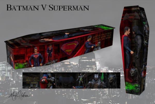 Batman Vs Superman Coffin
