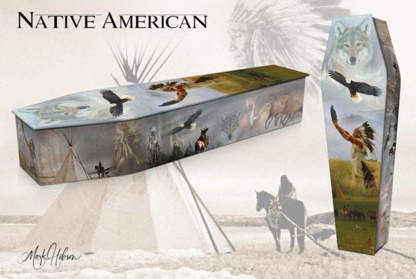 Native American Coffin