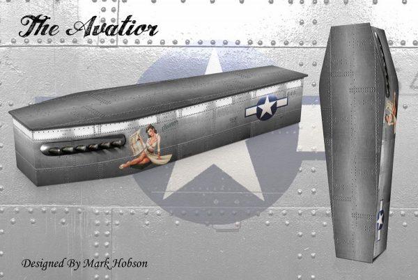 The Aviator Coffin