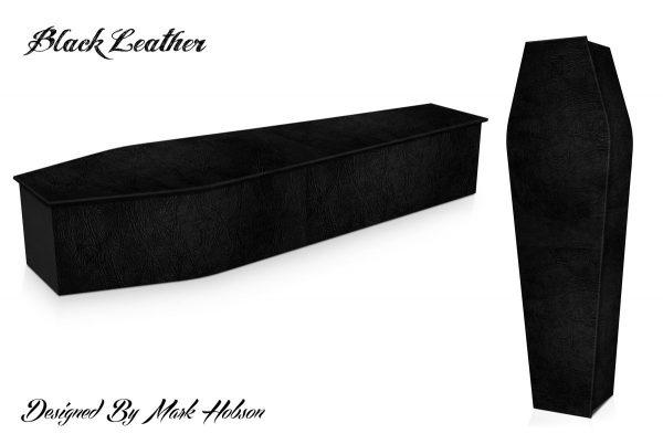 Black Leather Coffin