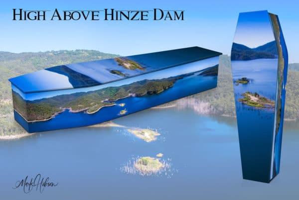 High Above Hinze Dam Coffin