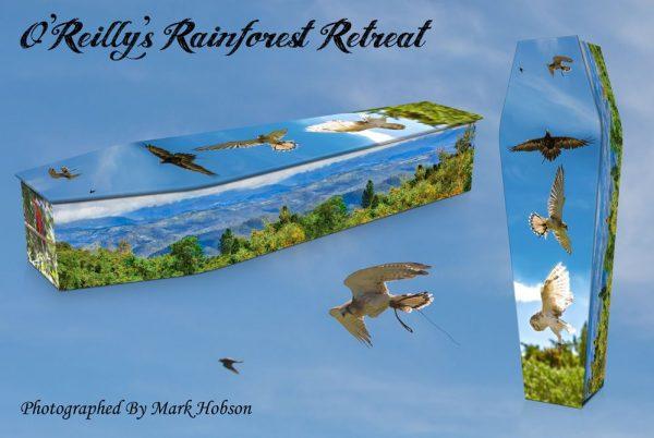 O'Reilly's Rainforest Retreat Coffin