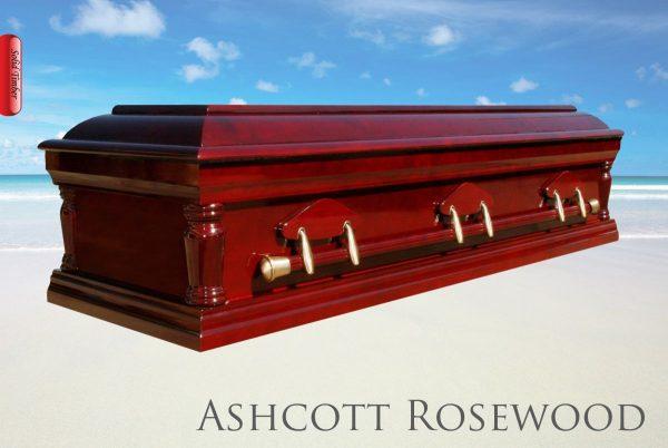 The Ashcott Rosewood Cremation Urn