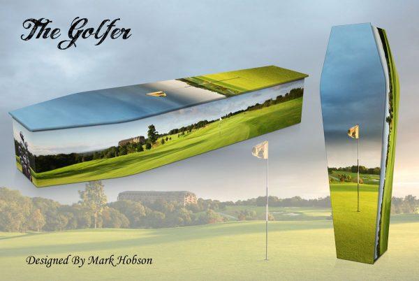 The Golfer Coffin