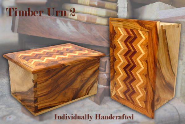 Timber Cremation Urn 2