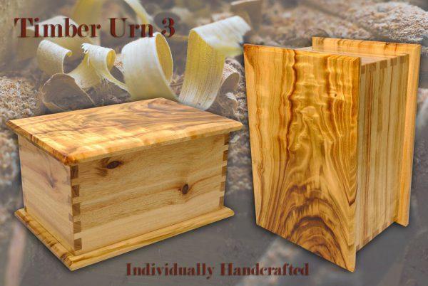 Timber Cremation Urn 3