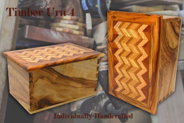Timber Cremation Urn 4