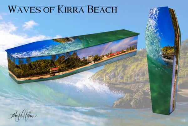Waves Of Kirra Beach Coffin