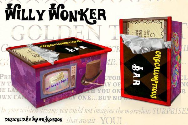 Willy Wonker Cremation Urn