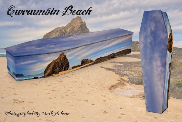Currumbin Beach Coffin