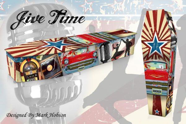 Jive Time Coffin