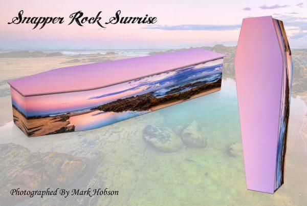 Snapper Rock Sunrise Coffin