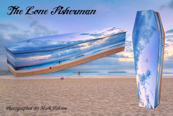 The Lone Fisherman Coffin