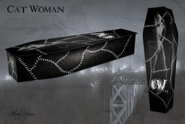 Cat Woman Coffin