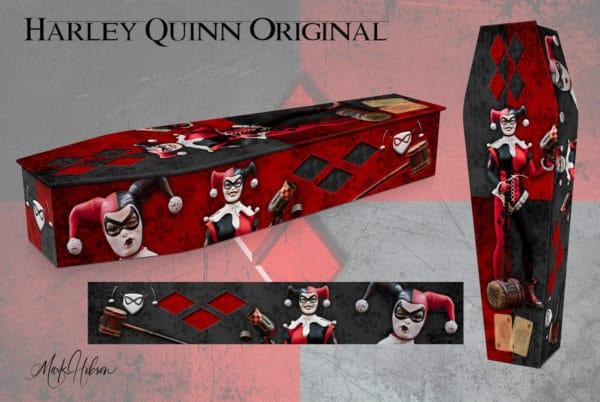 Harley Quinn Coffin