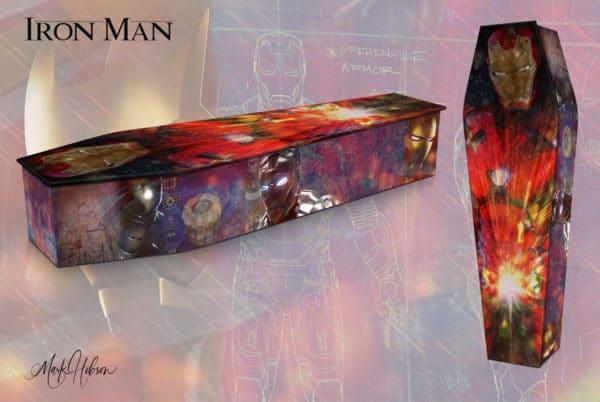 Iron Man Coffin