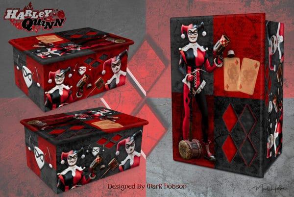 Harley Quinn Cremation Urn