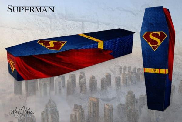 Superman Coffin Original