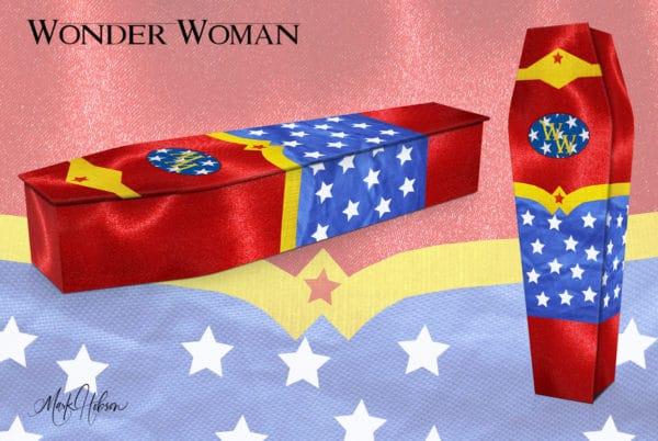 Wonder Woman Coffin