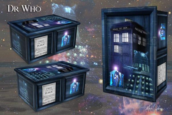 Dr Who Cremation Urn
