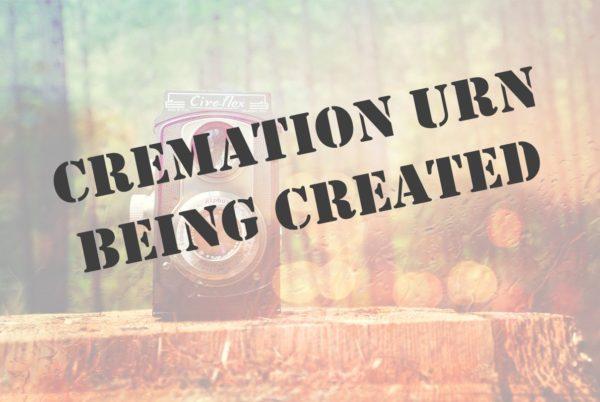 Cotton Crop Cremation Urn